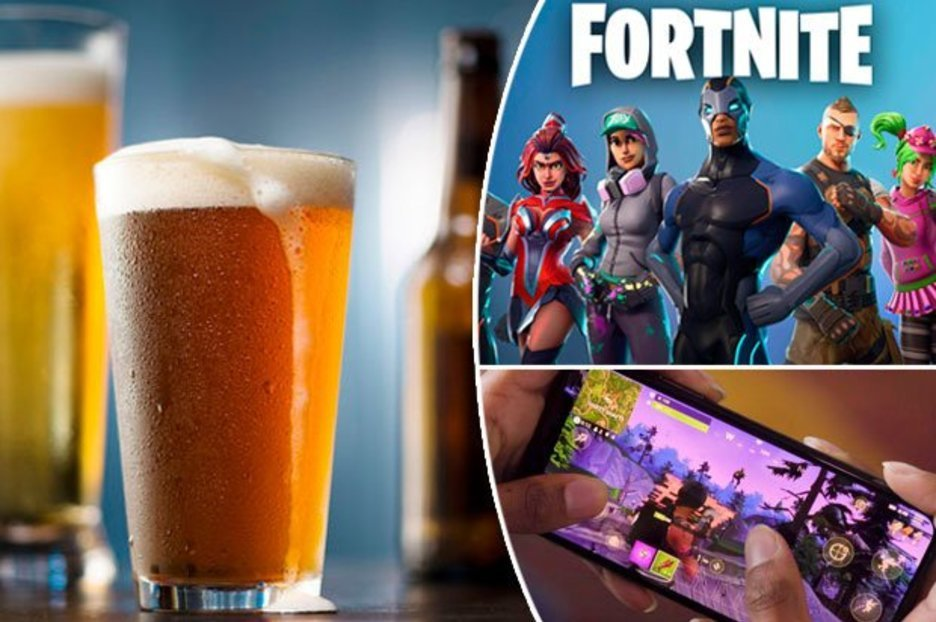 Gamers are shunning the pub for a night in playing Fortnite on their mobile