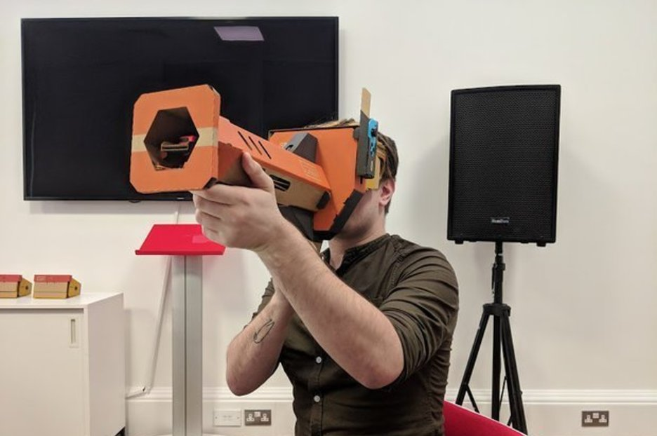 Hands On – Nintendo Labo VR: Switch's take on Virtual Reality will make VR go mainstream