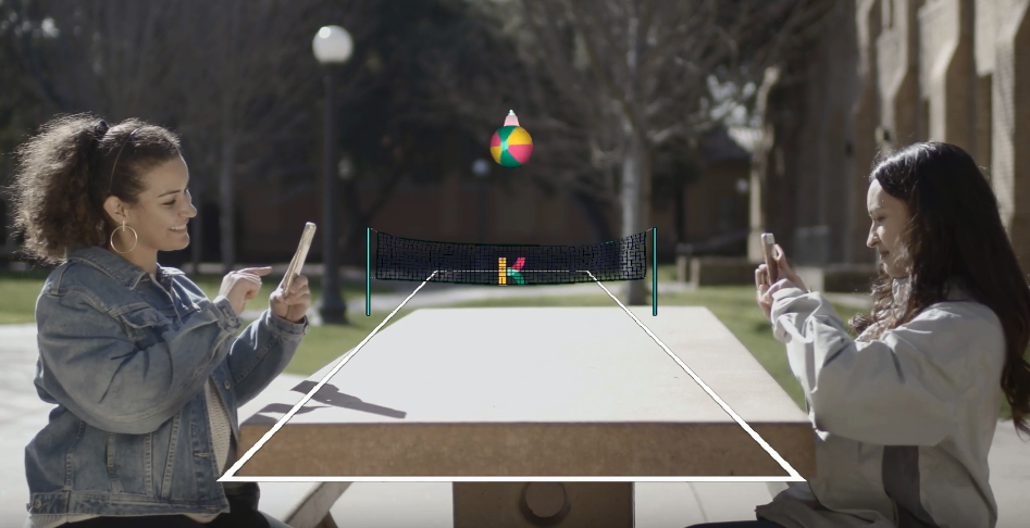 Play Beach Volleyball and Mini Golf in AR With Krikey