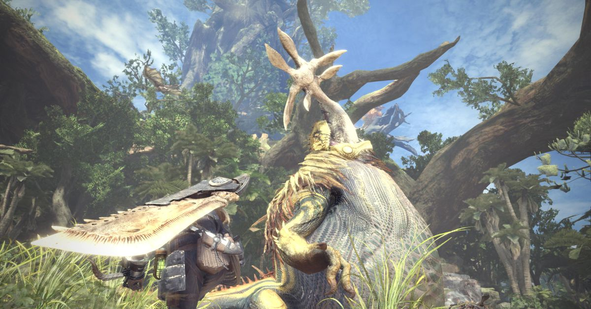 Monster Hunter: World is getting a high-resolution upgrade on PC
