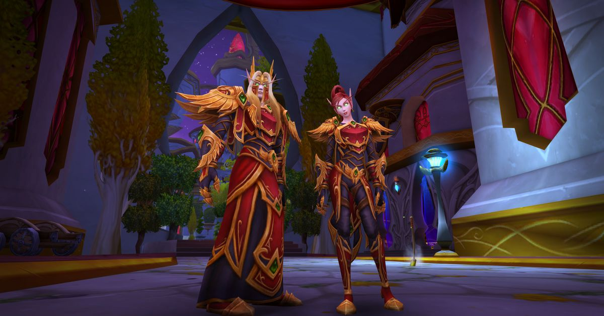 World of Warcraft players will be able to strip down without losing stats
