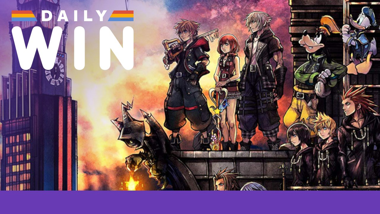 Daily Win: Enter for a Chance to Win a Copy of Kingdom Hearts 3 for Xbox One