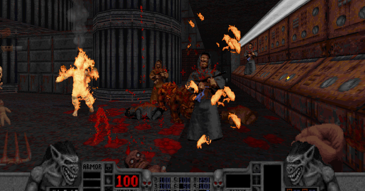 Blood PC restoration delivers another batch of throwback screenshots
