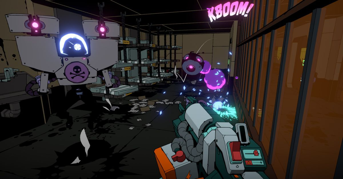 Void Bastards is pretty, funny, and exciting
