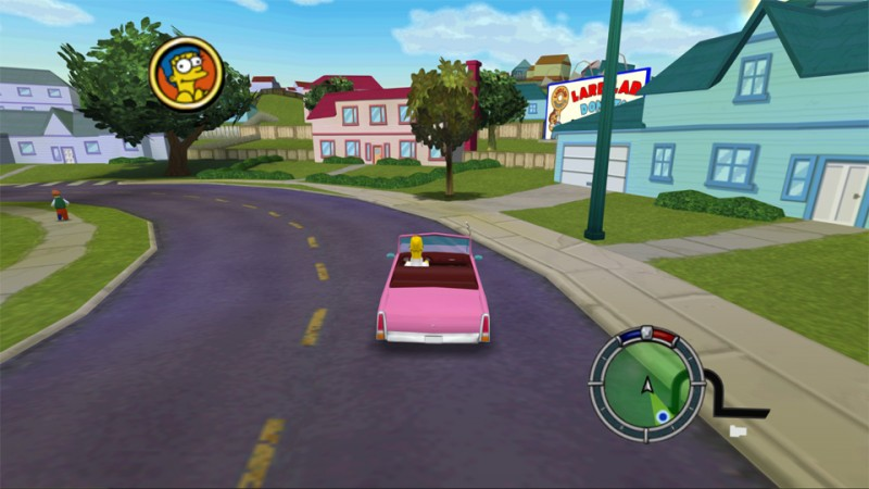 Video Shows Secrets Behind The Camera In The Simpsons Hit & Run