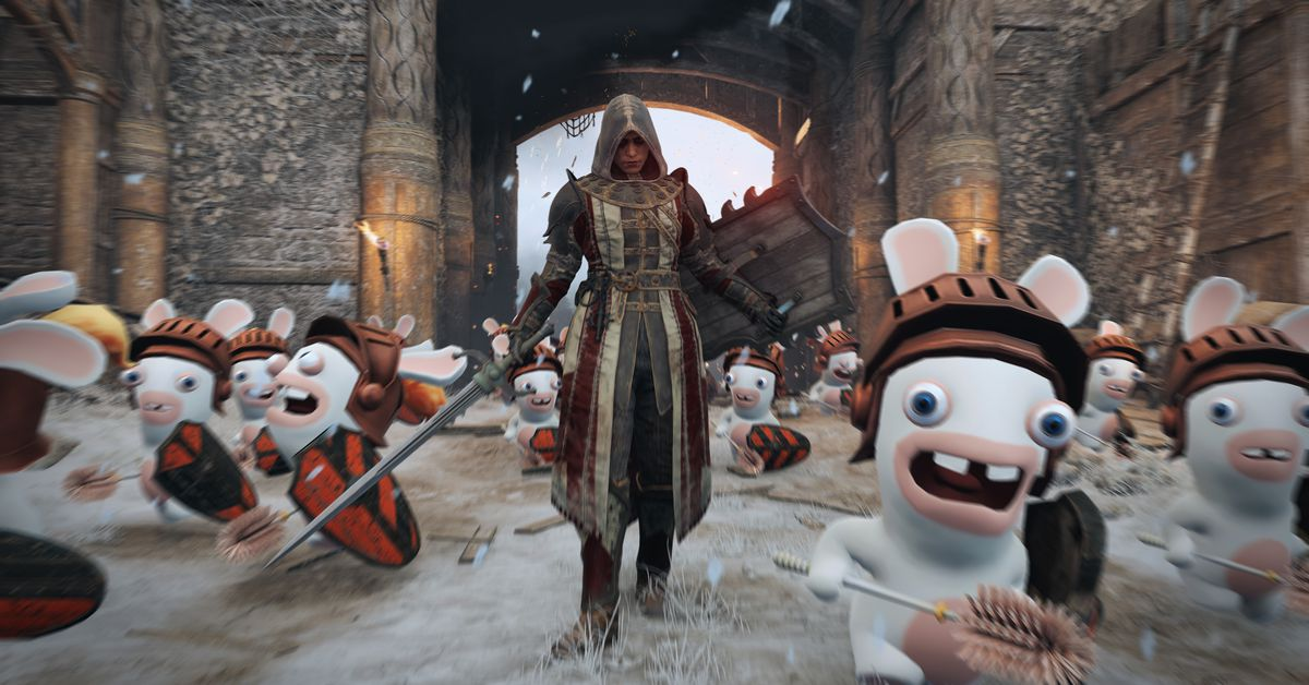 Ubisoft adds Rabbids to For Honor, unicorns and teddy bears to Rainbow Six Siege