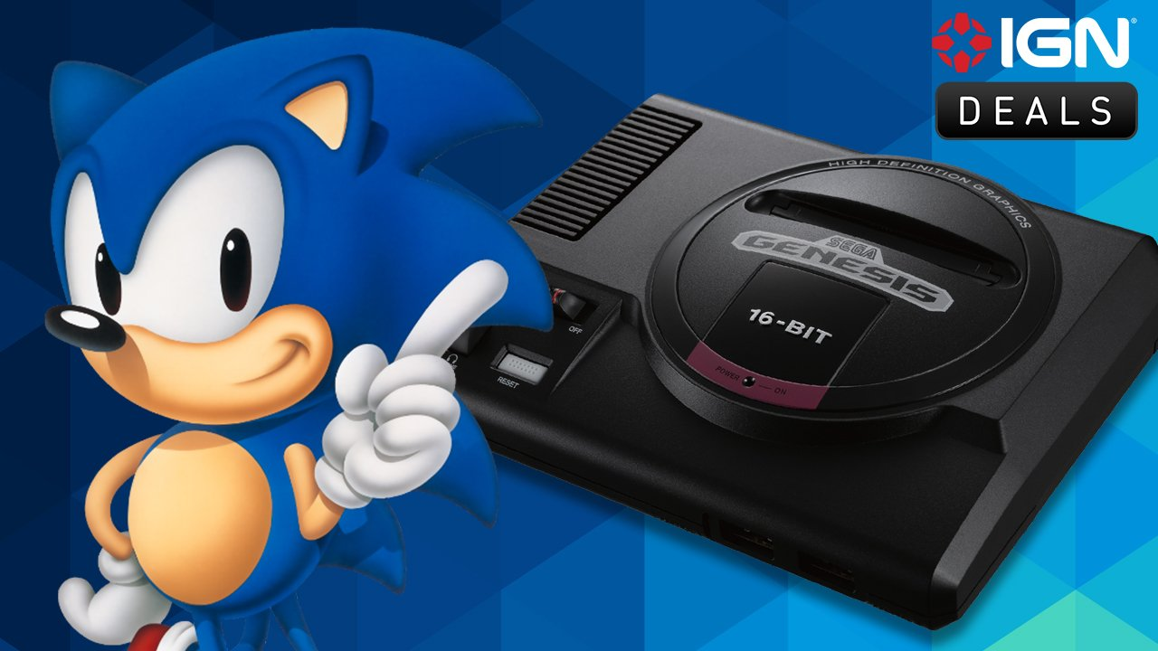 Daily Deals: Preorder the Sega Genesis Mini Featuring 40 Classic Games
