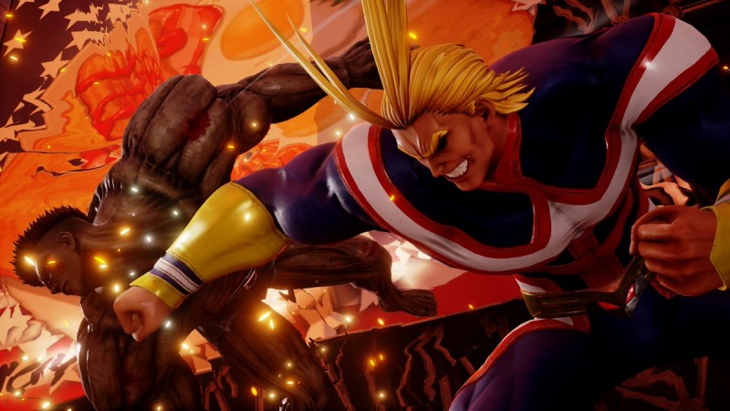 The Next Jump Force DLC Character Is All Might