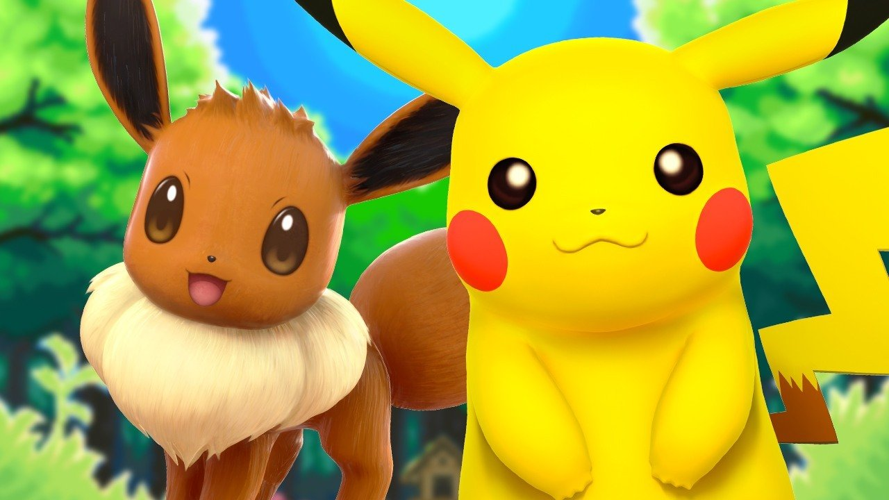 Lowest Price Ever on Pokemon: Let's Go Pikachu and Eevee and More Switch Games