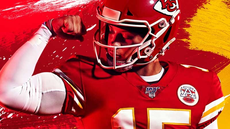 Chiefs QB Patrick Mahomes Named Madden NFL 20 Cover Star