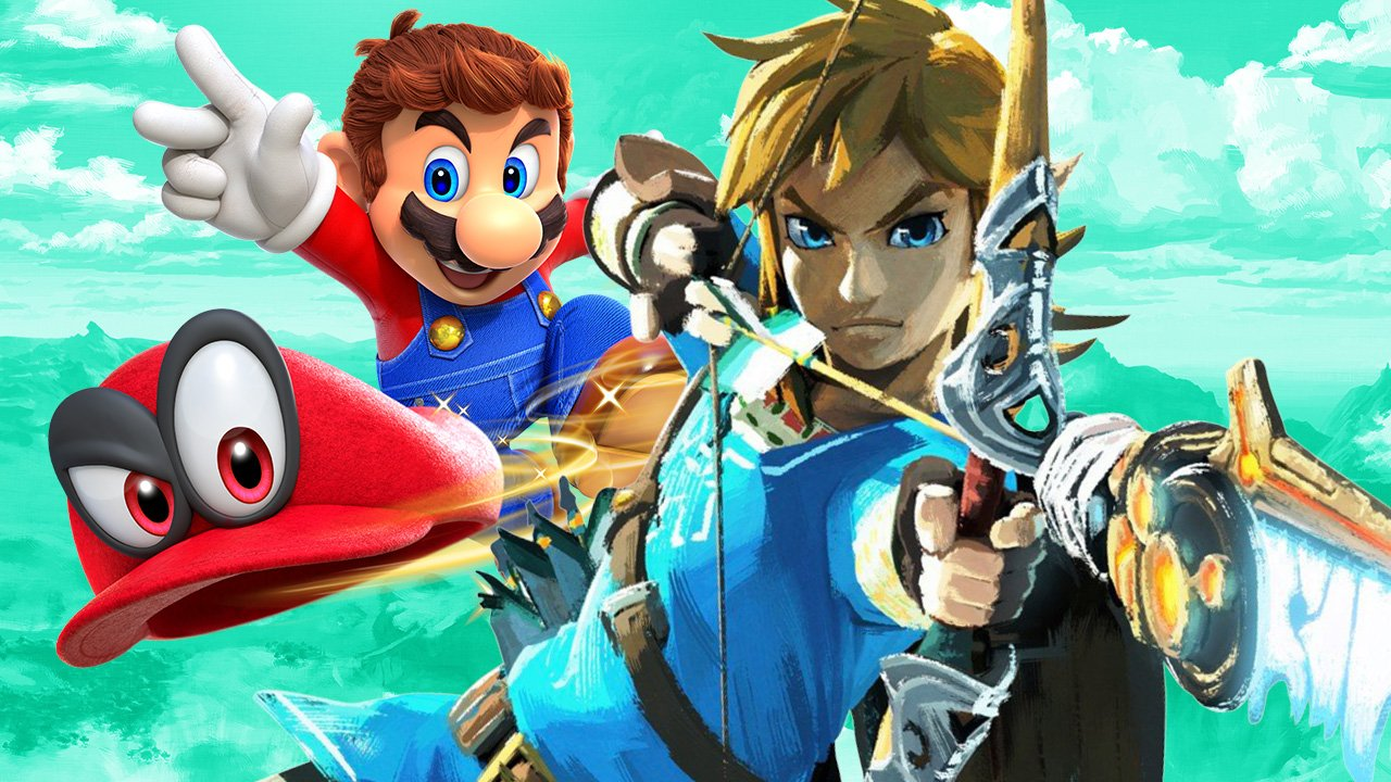 Super Mario Odyssey and Breath of the Wild to Get Nintendo Labo VR Support