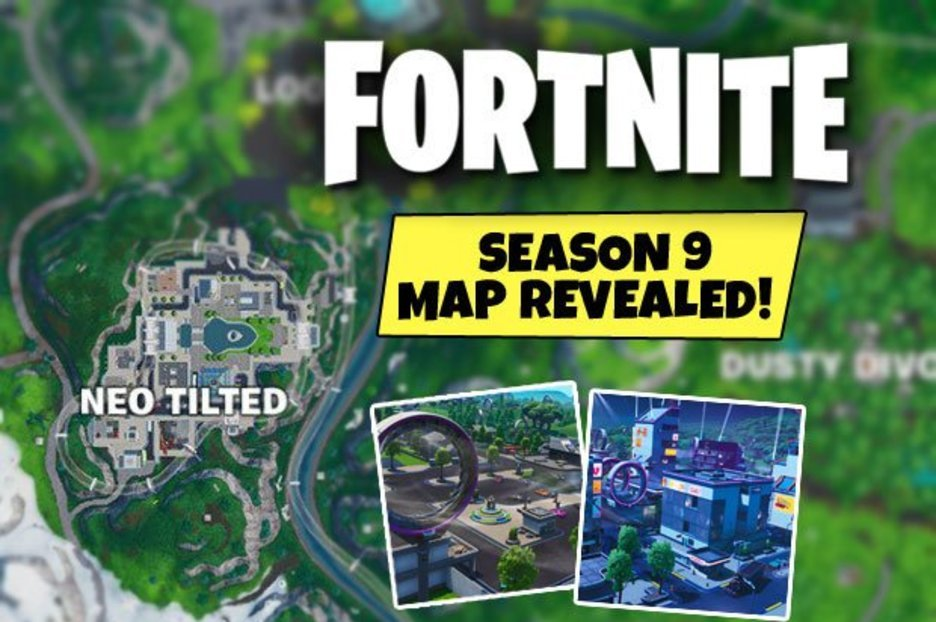 Fortnite Season 9 map REVEALED: Your first look at the NEW futuristic Battle Royale map