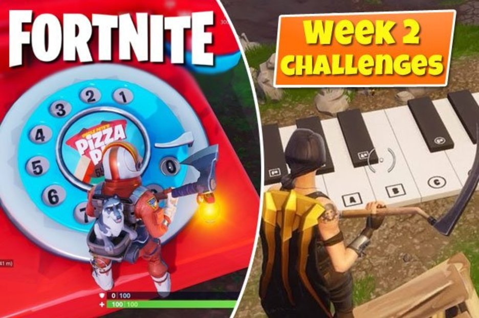 Fortnite Oversized phone, big piano, and giant dancing fish trophy location for Season 9