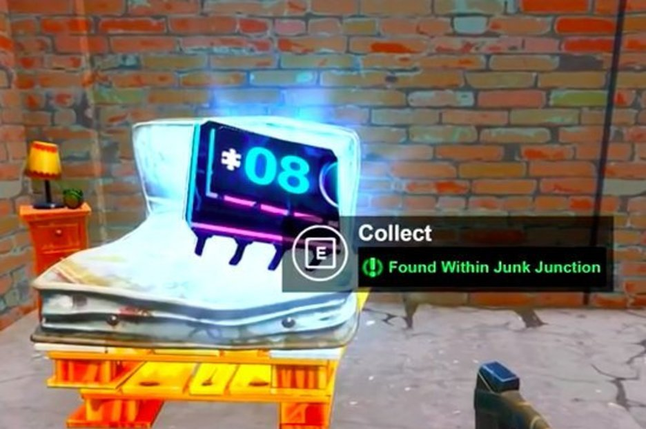 Fortnite Fortbyte 8 Found Within Junk Junction Location – Season 9 Guide