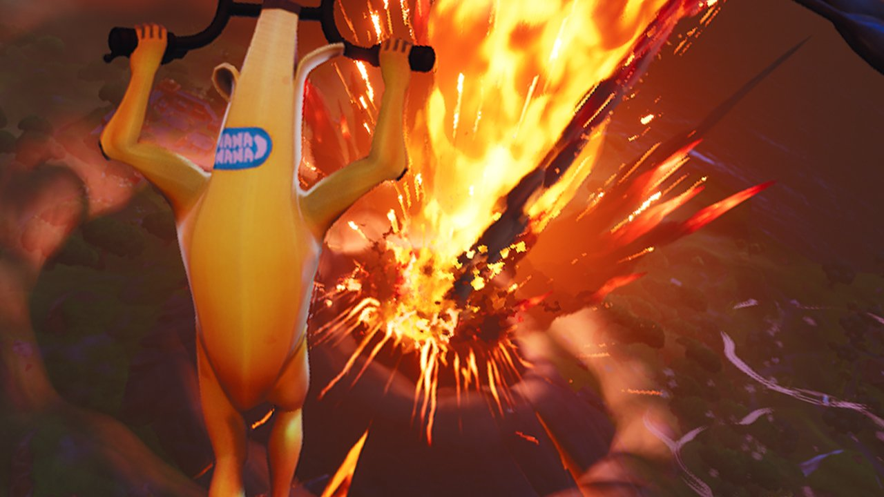 Fortnite's Volcano Erupts and Destroys Tilted Towers, Loot Lake Vault Opened