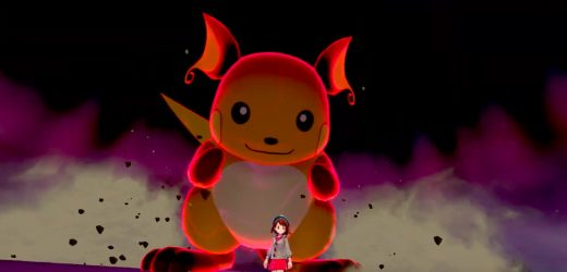 Pokémon Sword and Shield will have huge Dynamax monsters