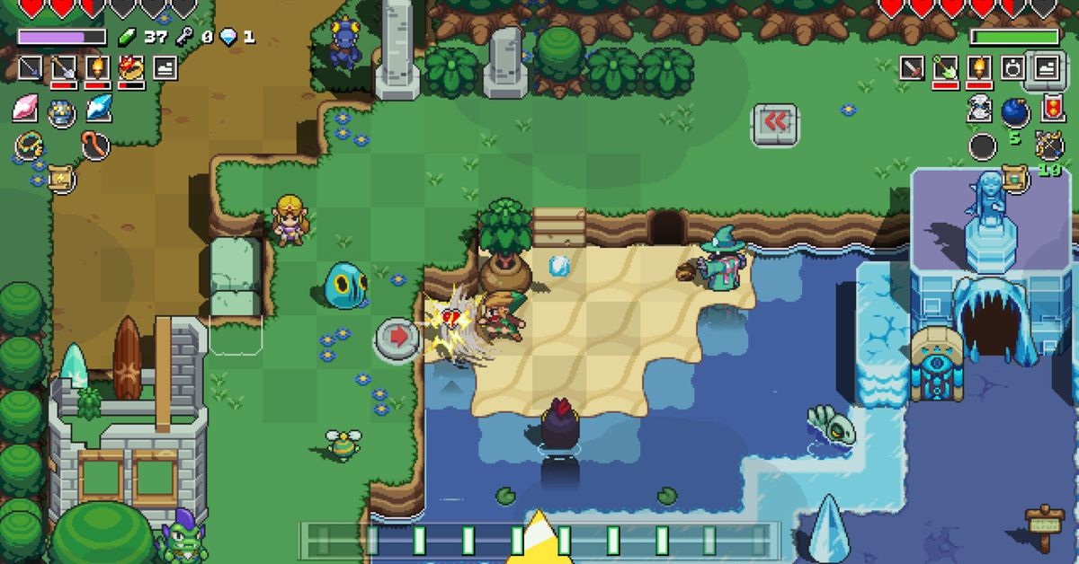 Cadence of Hyrule is the best Zelda spinoff ever made