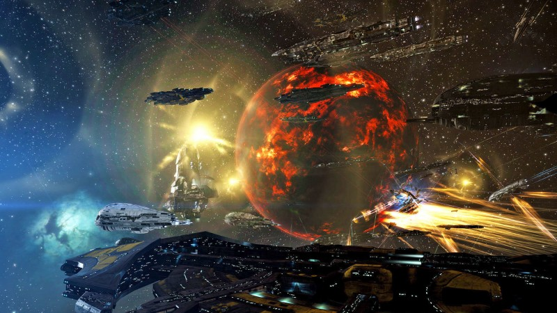 A Surprise Alien Invasion Has Taken EVE Online By Storm