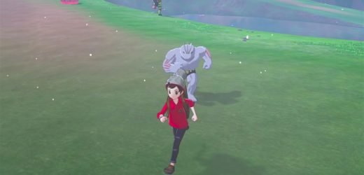 Machoke is terrifying in Pokémon Sword and Shield