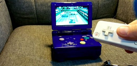 Wii and GameCube combined handheld is a childhood dream come true