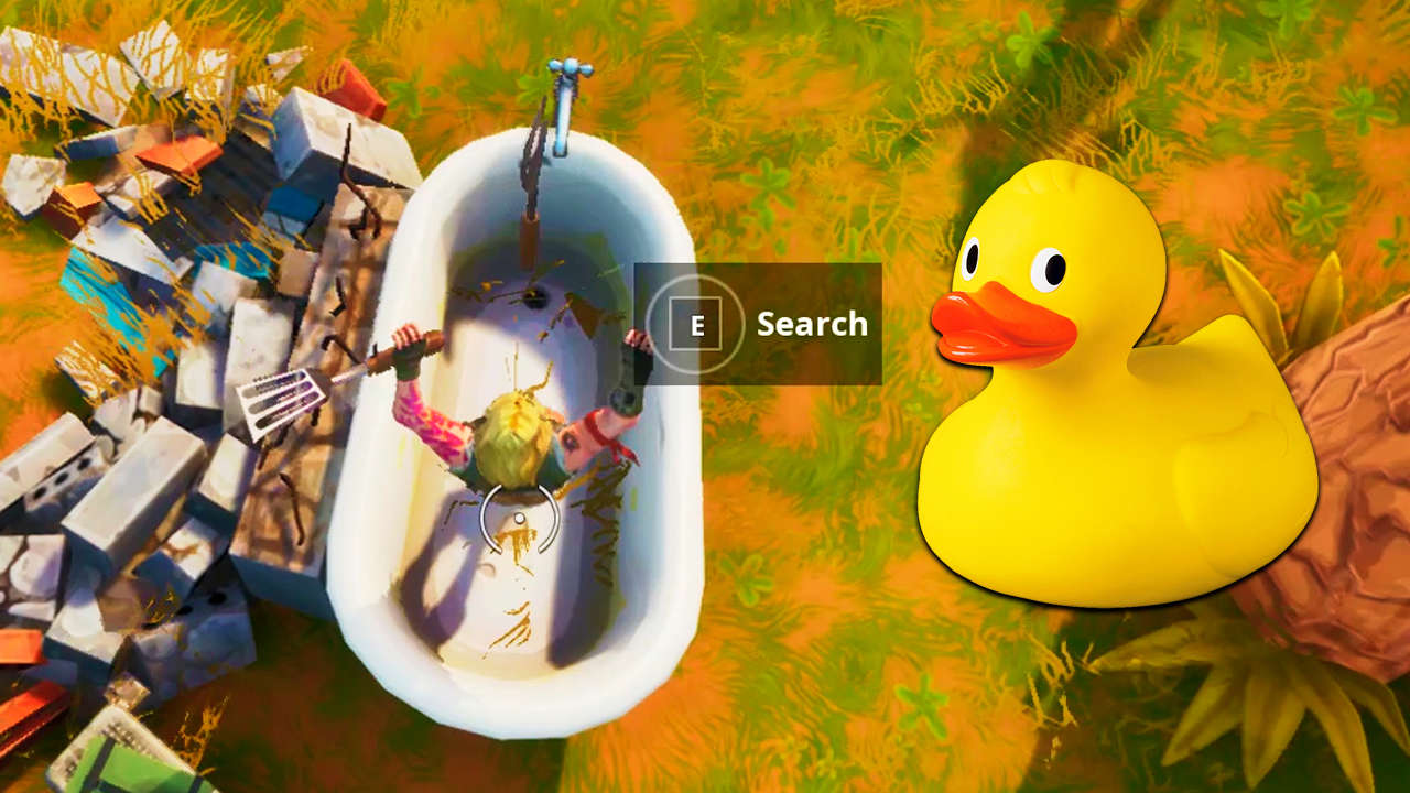 Fortnite: Where's The Tiny Rubber Ducky From The Loading Screen? Challenge Location