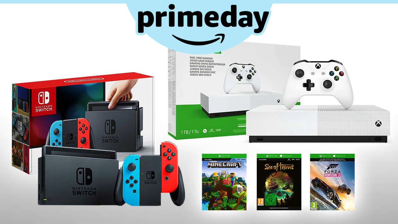 Don't Miss Prime Day's Craziest Gaming Deal: Switch, Xbox One S Bundled For $400