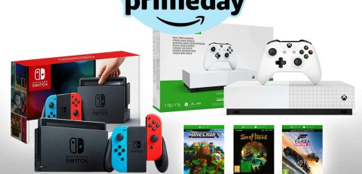 Prime Day: Nintendo Switch + Xbox One For $400 In Today's Craziest Deal Yet