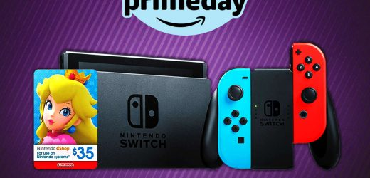 Nintendo Switch Prime Day Deal: Get $35 Free Eshop Credit With Switch Purchase (US)