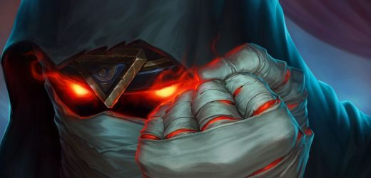 A fire fest evil-themed event is heading to Hearthstone