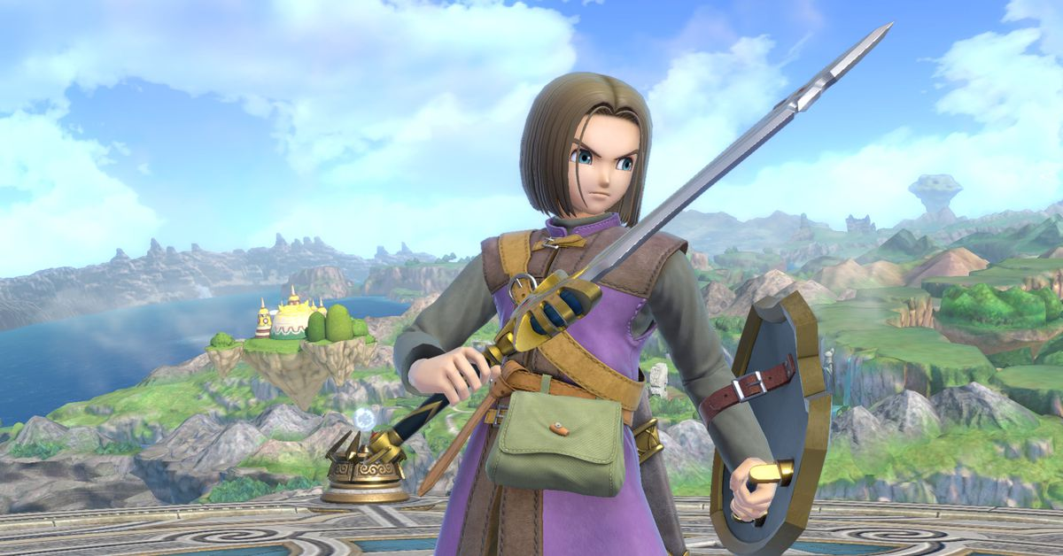 Super Smash Bros. Ultimate's new Dragon Quest fighter arrives today