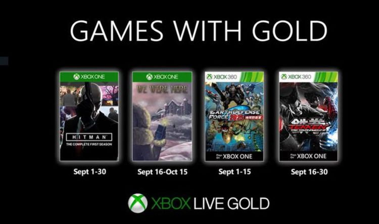Games with Gold September 2019: Great news for Xbox Live fans as free games revealed