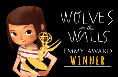 Virtual Being Project Wolves in the Walls Wins Emmy Award