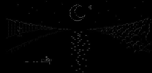 An RPG made of beautiful ASCII drawings, and other undiscovered gems