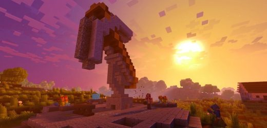 Minecraft's big, official graphics overhaul canceled