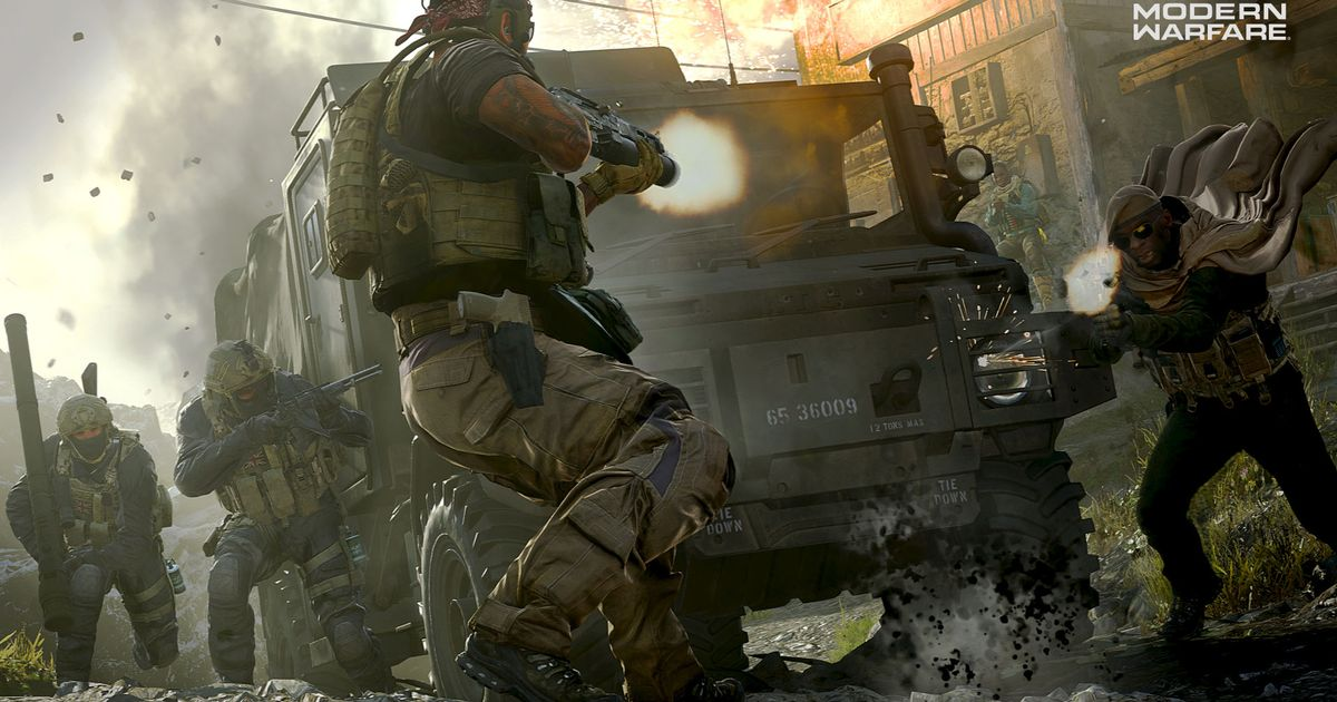 Call of Duty Modern Warfare's amazing multiplayer is let down by its community