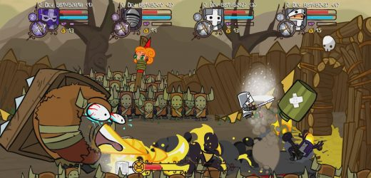 PSA: Castle Crashers Remastered for PS4 launches next week, too