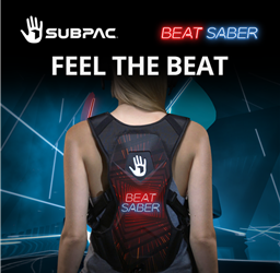 Feel the Rhythm With the Limited Edition Beat Saber SUBPAC Available for £299