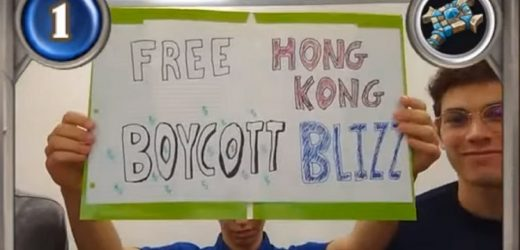 College Hearthstone team that held 'Free Hong Kong' sign banned for 6 months