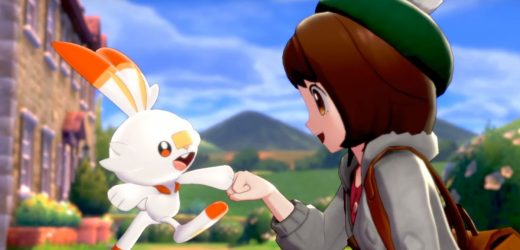 Pokemon Sword and Shield arrives on Switch