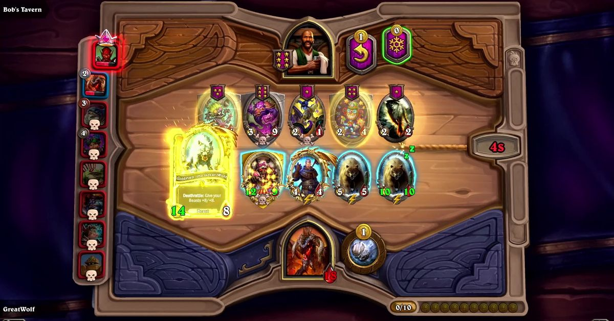 Blizzard announces Hearthstone Battlegrounds, a new autobattler set in the Warcraft Universe