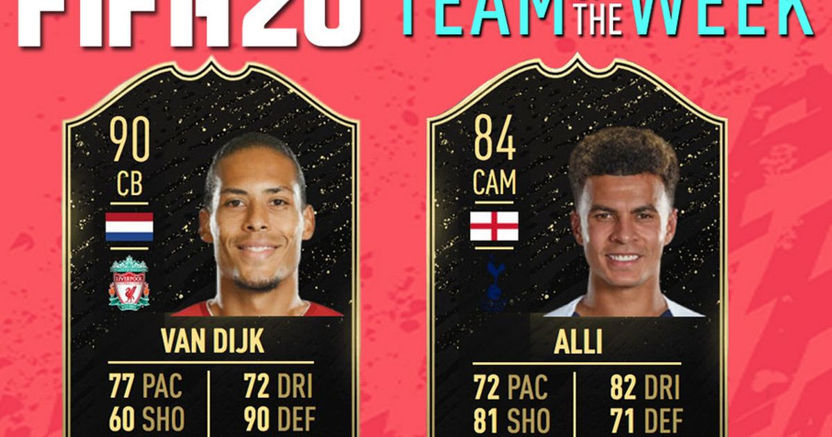 FIFA 20 TOTW 12 Predictions: New FUT Team of the Week Ultimate Team Upgrades