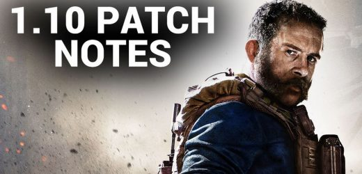 CoD Modern Warfare 1.10 Patch Notes Update for Season 1 PS4, Xbox & PC download