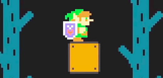 Big Super Mario Maker 2 Update Now Live, Lets You Play As Link From Zelda