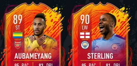FIFA 20 Headliners 2: Aubameyang, Raheem Sterling, James Maddison and more