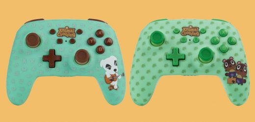 These Animal Crossing-Themed Switch Controllers Are Too Cute
