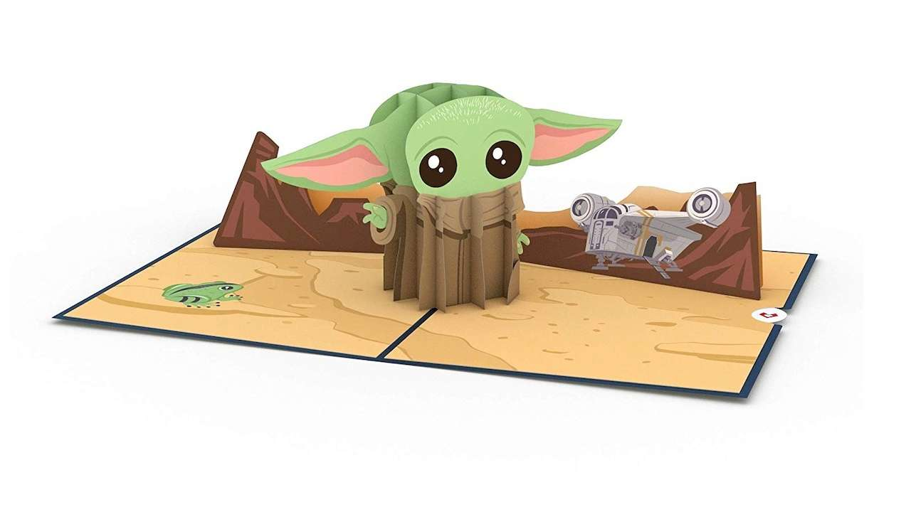 Super Sweet Baby Yoda Valentine's Day Pop-Up Card Available At Amazon