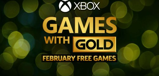 Xbox One Games With Gold For February 2020 Revealed