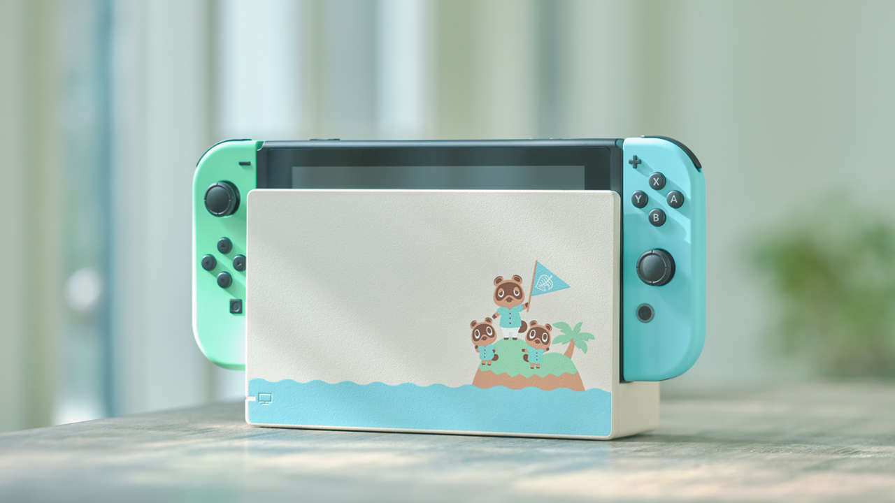 Official Animal Crossing Switch Console Now Available For Pre-Order