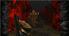 Classic Doom games updated with 60 fps, quick saves, and add-on support