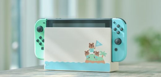 Nintendo Is Releasing A Special Edition Animal Crossing Switch In March
